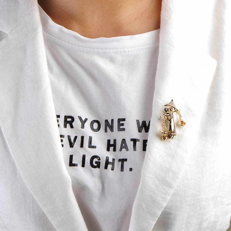 Madrry Специальный рисунок Броши забавные брохес Шпильки пальто кардиган рюкзак Интимные аксессуары на день рождения персонализированные подарки Броши Bijoux