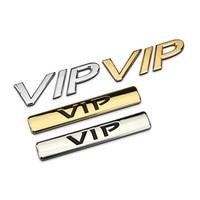 Car Metal VIP Car Stickers Car Logo Badge Chrome Gold Silver Logo For The Toyota Honda