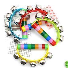 Деревянная детская погремушка, детская коляска, игрушка, колокольчик, Джингл, музыкальный инструмент для новорожденных, развивающие игрушки для детей