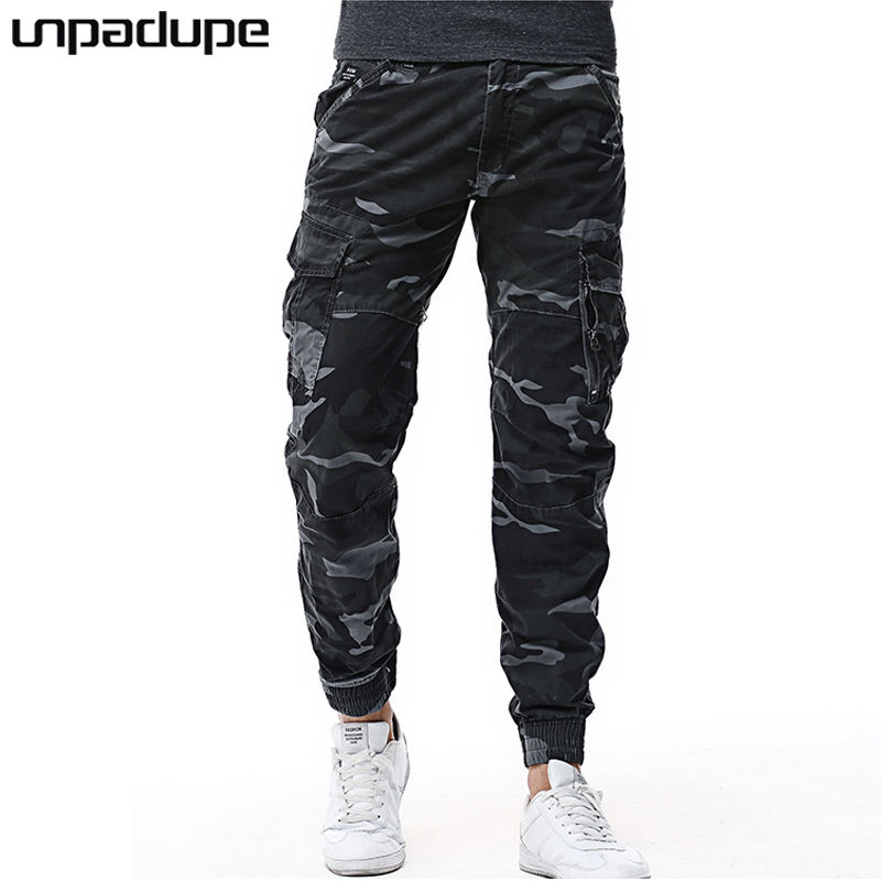 New Arrived 2018 Brand Casual Joggers Camouflage Compression Pants Men Cotton Trousers Calabasas Cargo Pants Mens Leggings