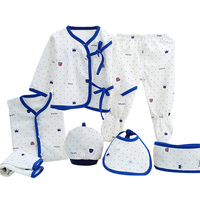7pcs/sets Cartoon Newborn Baby Gift Sets Infant Clothing Suit for 0 3 Month New Born Toddler Boy Girl Underwear Clothes Outfits