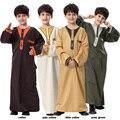 Crianças Roupas Crianças Usam Vestes Muçulmanas Roupas Juventude Hui Étnica Trajes 2017 Novo