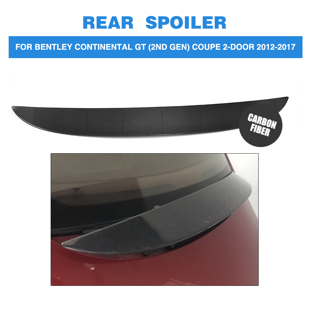 Car Rear Boot Wing Lip Spoiler For Bentley Continental GT