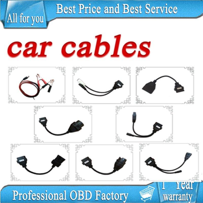 8pcs per set font b car b font cable for TCS cdp pro plus by cn