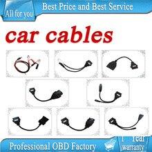 8 unids por juego coche cable para TCS cdp pro plus por el poste del nc cables de coches para multidiag pro y wow snooper
