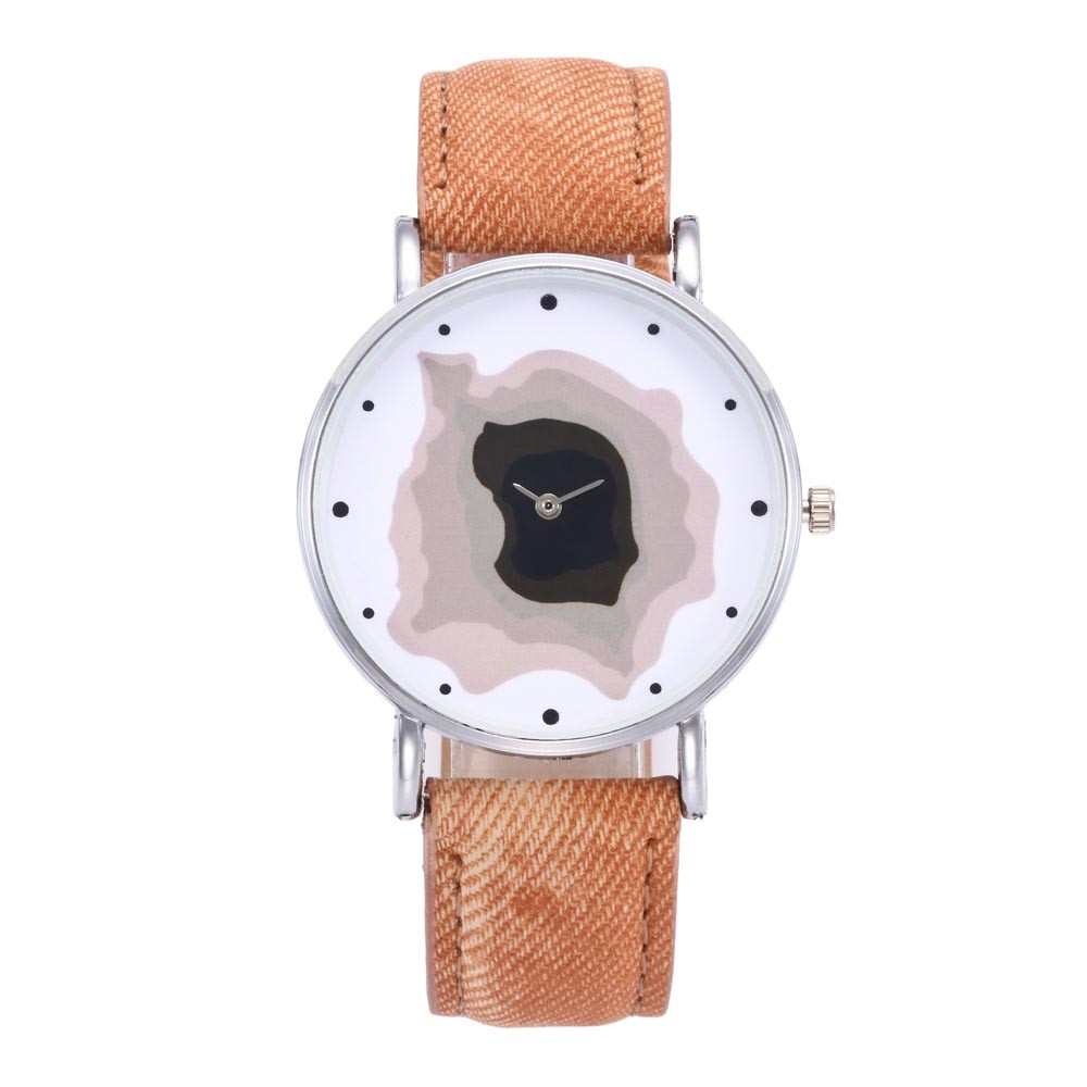 8 Colors! 2017 Beautiful Fashion Unisex Quartz Leather Analog Wrist Simple Watch Round Case Watch Y7911*