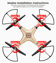 X8HC Drone X8C Upgrade with 2MP HD Camera 2 4G 4CH 6Axis RC Helicopter Fixed High