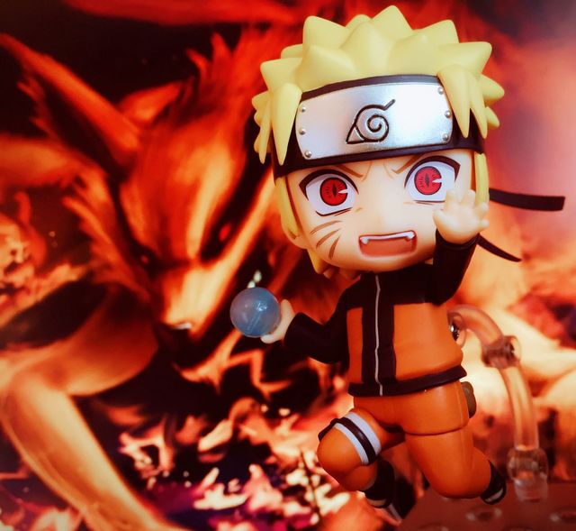 Anime Naruto Nendoroid 682 Uzumaki 10cm BJD Action Figure New Ninja Model Toys