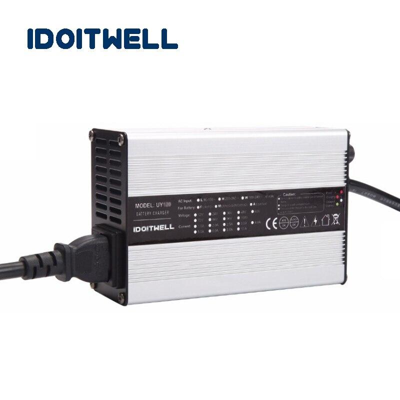 Подгонянное 600W Регулируемое зарядное устройство тока 60V 7A 5A ток 2 этапа регулируемое быстрое зарядное устройство 60 вольт для аккумуляторной