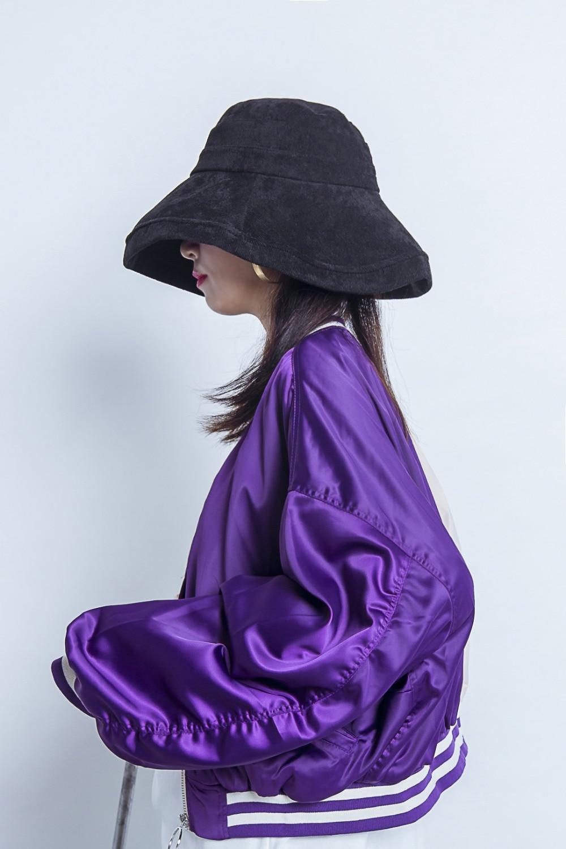 Maniche Tempo Breve Cappotto Bf Stili Di A Viola Lunghe Libero Giacca rosso 2018 Nuovi Moda Il Viola Colore Sciolto 0Zan7