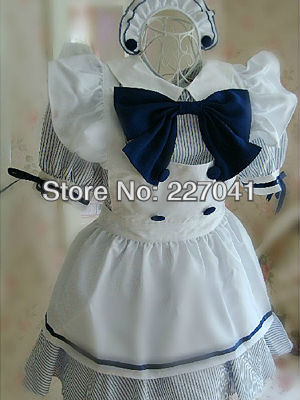 Beautiful Japanese Girl Lolita cosplay anime clothes Halloween costume dress Free Shipping A0174