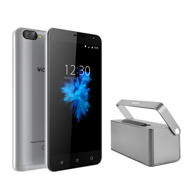 WIEPPO S6 5.5 inch 4G Mobile Phone Dual Real Cam Android 7.0 MT6737 Quad Core 2GB RAM 16GB ROM Smartphone OTG Cellphone