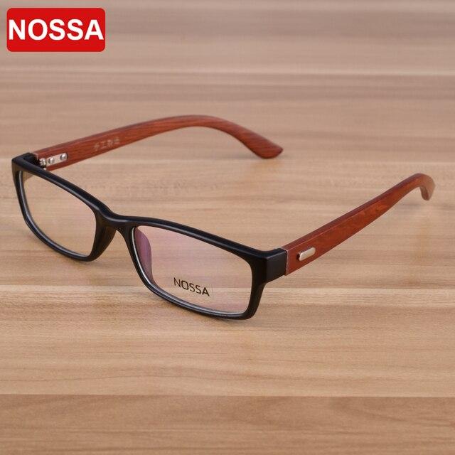 e566e9d8453 NOSSA Handmade Wooden Vintage Delicate Glasses Frame Women Men Retro Myopia  Eyewear Frame Wood Spectacle Student Eyeglasses