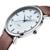 2016 Marca De Luxo Relógios Homens Fino Completo Couro Genuíno Relógio Masculino À Prova D' Água Casuais Esporte Quartz Relógio de Pulso Relogio masculino
