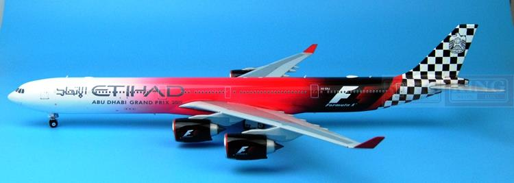 Eagle 100025 A340-600 F-1 A6-EHJ 1:200 Etihad Airways commercial jetliners plane model hobby
