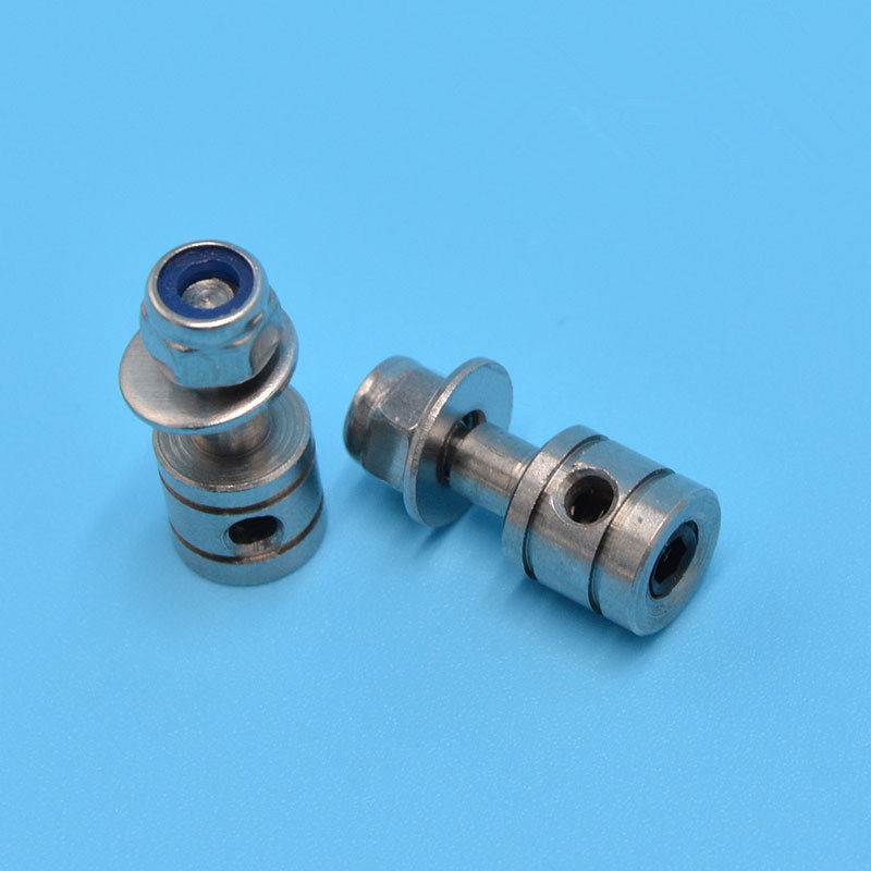5PCS/Lot 2mm Stainless Steel Servo Positioning Bean Seat for 2mm Pull Rod Direction Positioning Bean for RC Boat