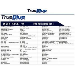 Image 5 - Dealonow 64G/32G True Blue Mini Crackhead Pack/Meth Pack/Weed pack/Fight Pack na akcesoria PlayStation z miniaturowy hub usb