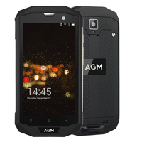 AGM A8 Rugged Mobile Phone MSM8916 Android 7.0 Quad Core 13.0MP 4050mAh Support Bluetooth NFC OTG 5.0 Inch 4G FDD LTE Phone
