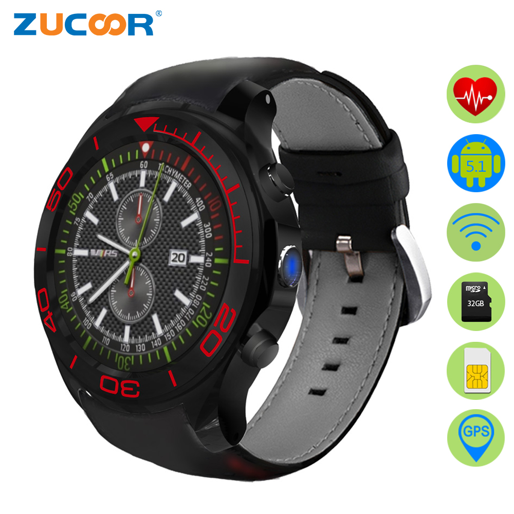 ZUCOOR Smart Watch Android Alarm Clocks With GPS Tracker RW70 Watches Pulse Monitor Smartphone Heart Rate Smartwatch Pedometer smart baby watch q60s детские часы с gps голубые