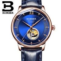 Switzerland BINGER Watches Men Ultra thin Japan 90S5 Automatic Movemt Tourbillon sapphire Clock Mechanical Wristwatches B 1180 2