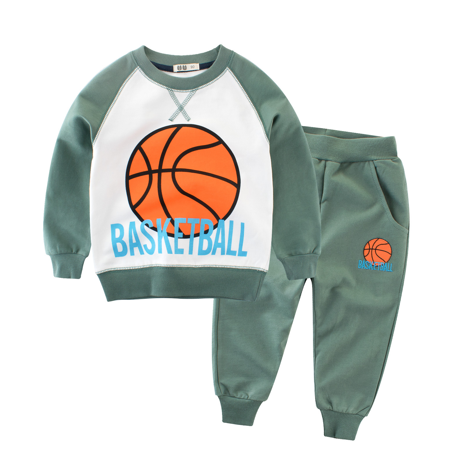 Kids clothes football printed baby boy clothes sports children
