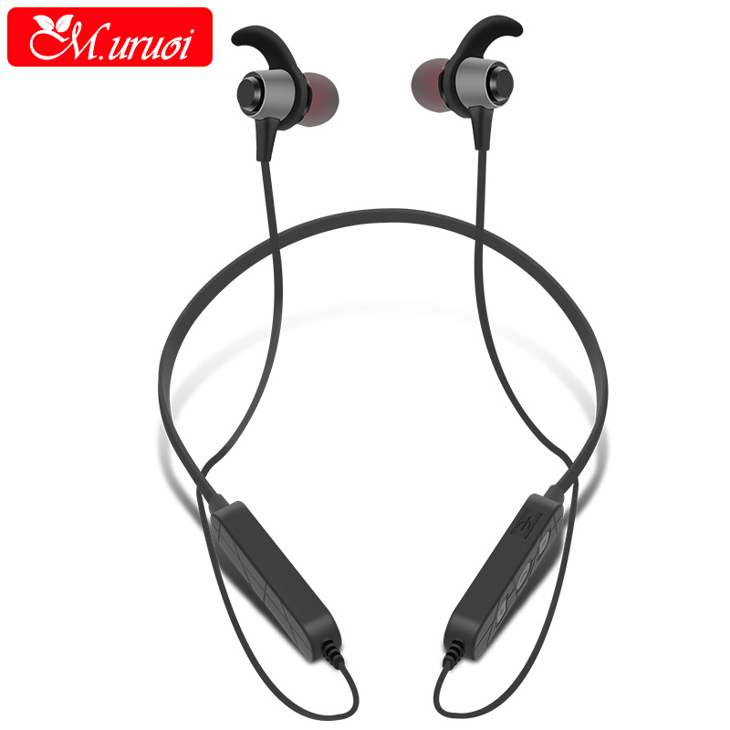 M.uruoi Portable Bluetooth 4.2 Headphones Inear Earphones Cordless Headset Wireless Earbuds Noise isolating For iPhone Samsung