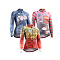 Women Compression T-shirt Long Sleeve Breathable Tee Workout Fitness Jersey 3D Full Prints Tight Skin Female Quick Dry Tops&Tees