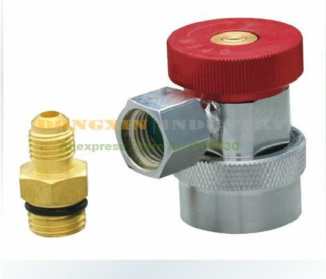Adaptador rápido QC-12MH (alta presión) para la carga de la refrigeración del automóvil hilo M14 * 1,5 Conector neumático Tipo UE conector de empuje rápido acoplador de alta presión funciona en compresor de aire de alta calidad estándares europeos