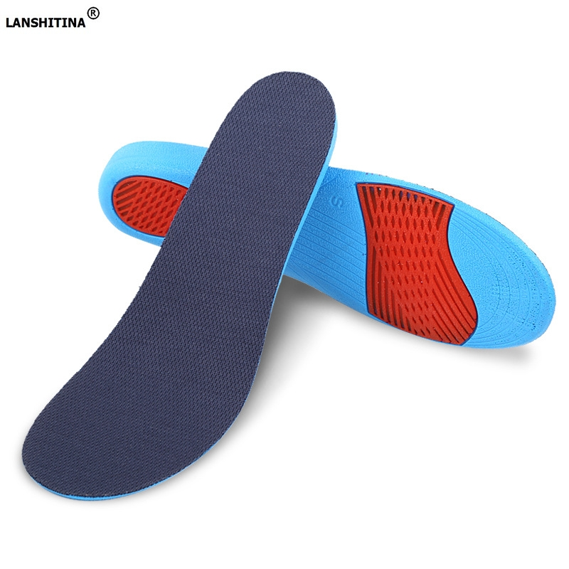 Increased insoles shock absorbent shoes pad flat foot arch support orthotic insoles breathable foot pad soles