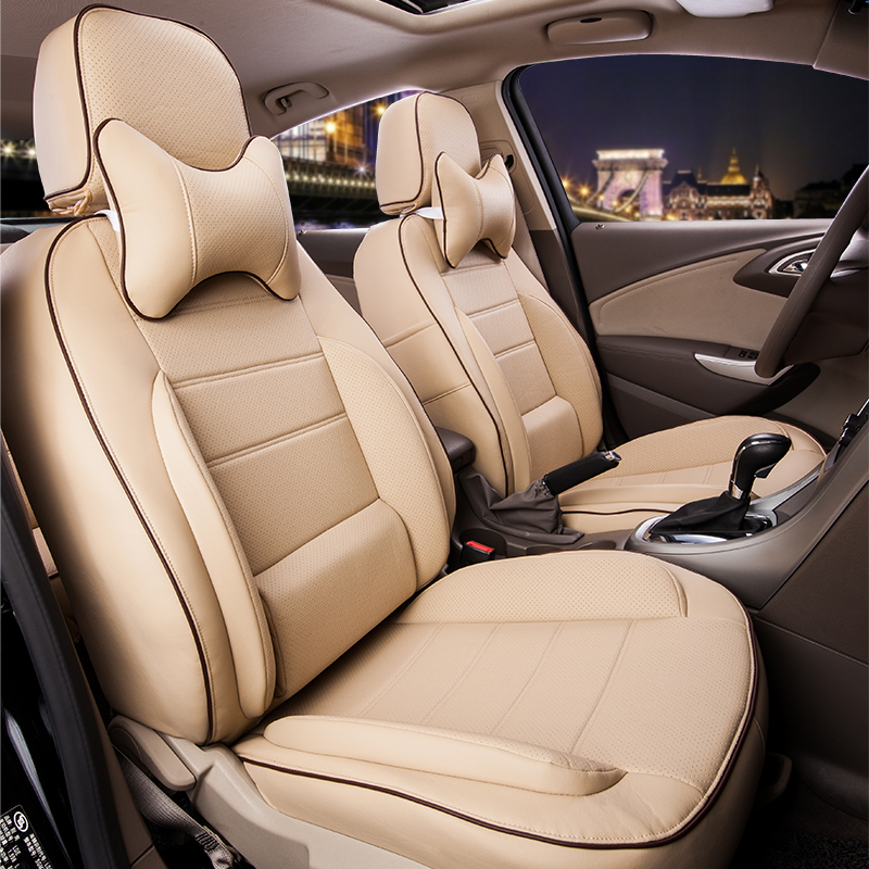CARTAILOR PU Leather Cover Seats for Toyota Land Cruiser Seat Cover