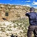 Бумажная цель для стрельбы  наклейки для стрельбы  9 35x14 5 дюйма  цели для стрельбы  наклейки  Бумажные рулоны  не складываются  100 шт.