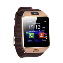 Do bluetooth Relógios Inteligentes Smartwatch Para Android Da Apple Telefone DZ09 Relógio Apoio Whatsapp Facebook SD SIM Com Câmera