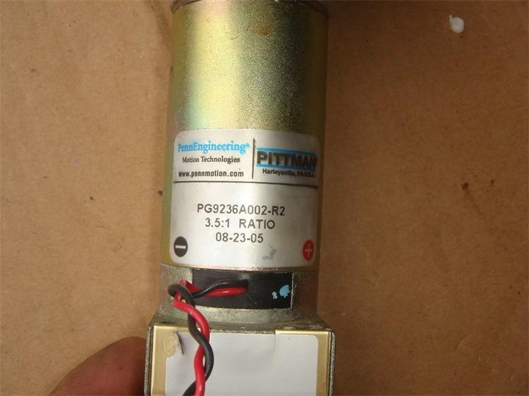 где купить 12V-30V 310-830 rpm PITTMAN PG9236A002-R2 DC geared servo motor photoelectric encoder Equipment DIY Accessories дешево