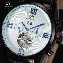 Wrap montre Tourbillon bleue