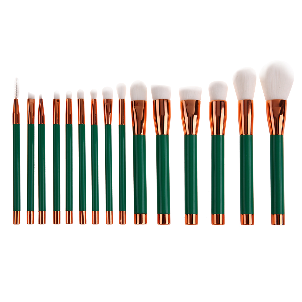 15Pcs Pro Makeup Brushes Face Base Powder Foundation Blush Contour Highlighting Eye Cosmetic Eyeshadow Eyebrow Eyeliner Brush pro 15pcs tz makeup brushes set powder foundation blush eyeshadow eyebrow face brush pincel maquiagem cosmetics kits with bag