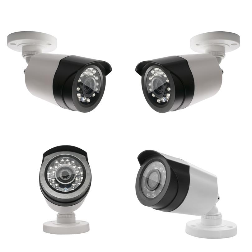 ФОТО AHD Camera 1080P HD 2.0Megapixel 24 IR LED 20m Night Vision Waterproof IP66 Plastic Case Full HD Camera Security