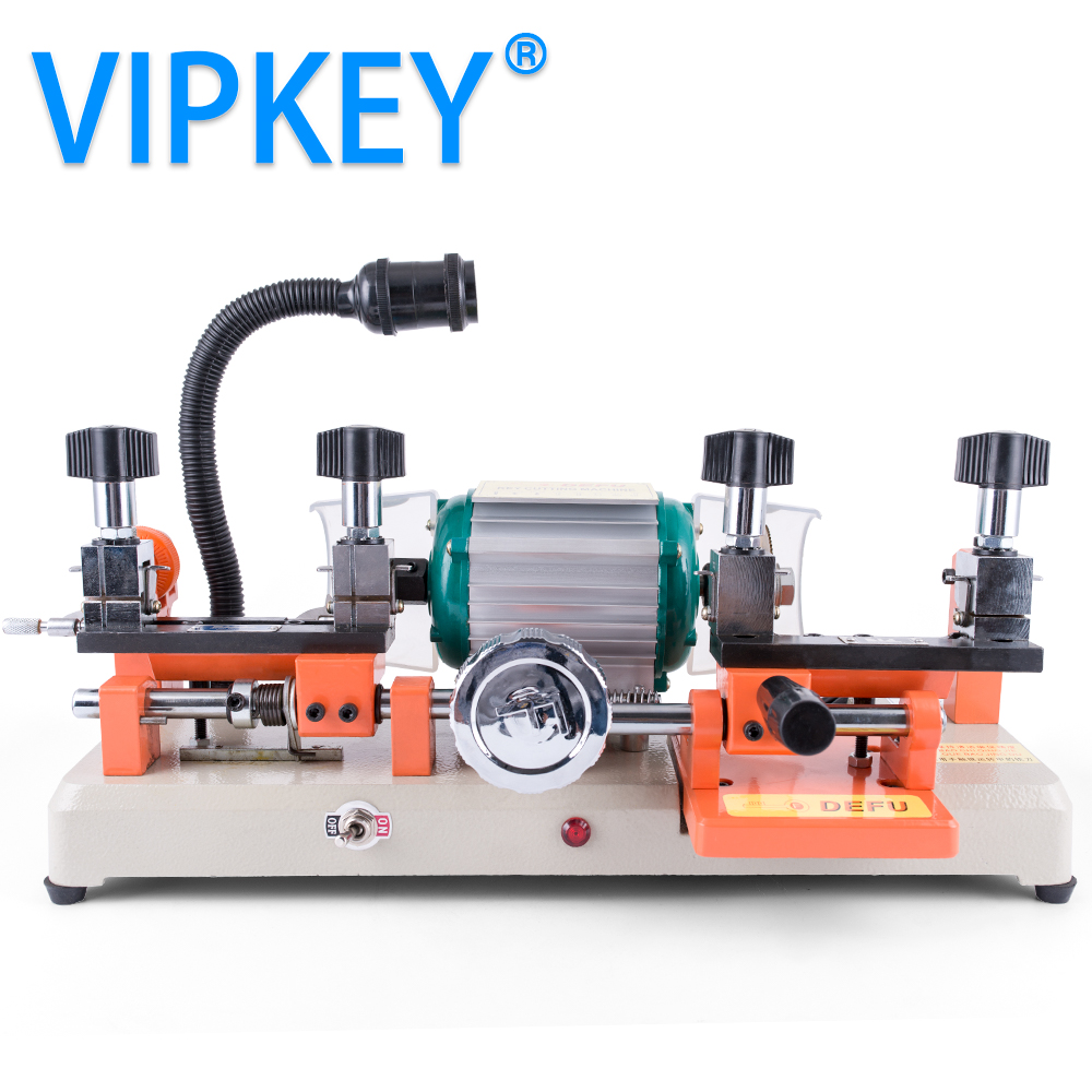 220V and 110V version DEFU 238BS horizontal key cutting machine for universal key locksmith tools key