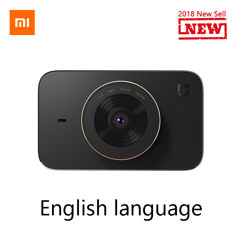 Xiaomi Mijia Carcorder Smart DVR Car Driving Recorder F1.8 1080P 160 Degree Wide Angle 3 Inch HD Screen Car Cam Night vision bigbigroad for nissan qashqai car wifi dvr driving video recorder novatek 96655 car black box g sensor dash cam night vision