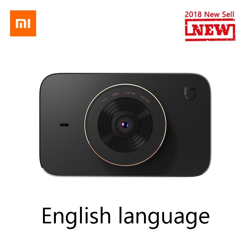 Xiaomi Mijia F1.8 Carcorder DVR Gravador de Condução de Carro Inteligente 1080 P 160 Degree Wide Angle 3 Polegada Tela HD Carro Cam Night vision