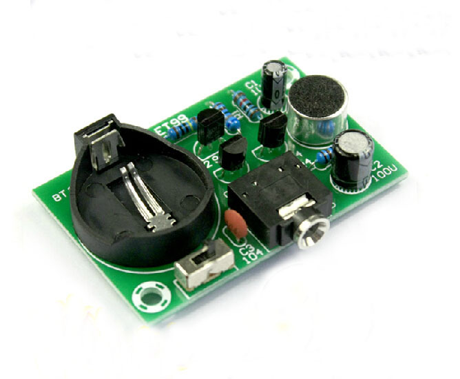 Electronic Ear Circuit Schematic Diagram