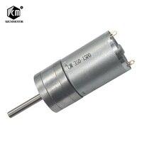 6 v 12 v 24 v 16 rpm para 1360 rpm micro saída de baixa velocidade da engrenagem do motor pequeno com longa eixo 25mm * 4mm Motor CC     -