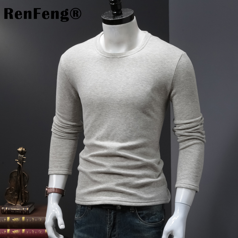 High Quality O-neck Sweater Men Winter thick Pullover Solid Knitted Sweater Tops for Men Autumn Male oversized Sweater Knitwear (5)