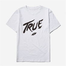 Voltreffer Avicii Womens T-shirts for Women Summer Rock and Roll Fashion Ladies Streetwear Tops White T Shirt Women Cotton Cute(China)