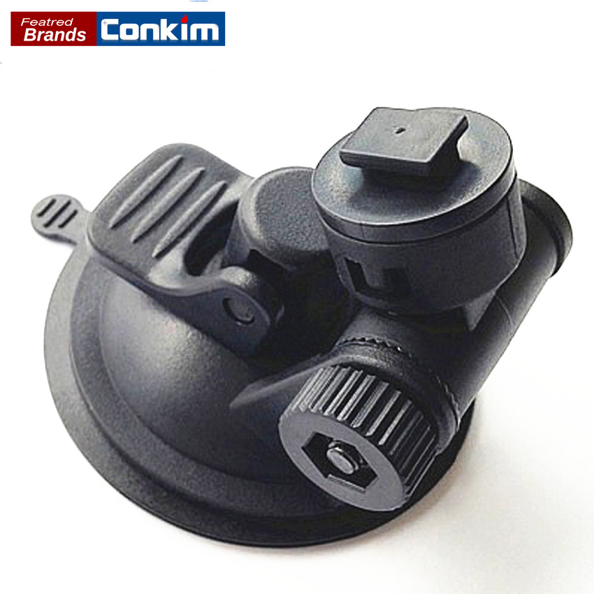 Conkim 360 Degree Rotating Suction Cup Holder For DVR Car Windshield Bracket Holder For Dash Camera GPS Navigation h05 360 degree rotation suction cup holder w c46 mini back clip for iphone 4 4s 5 black