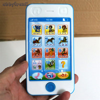 Abbyfrank Learning Toy Arabic Language Musical Mobile Phone Machines Story Educational Toys For Kids Celular Brinquedo