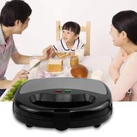 New Electric Sandwich Maker Grilling Tray Toaster Kitchen Breakfast Bread Machine 24cm x 23cm x 9.5cm