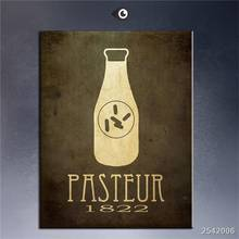 Steampunk Art Print Wall Poster Pasteur 1822 Painting Printed On Canvas gift Landscape Rectangle Canvas Printings Impressionist