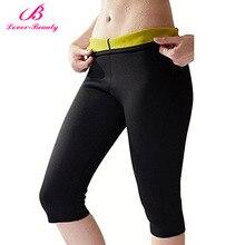 c44d8245eecd9 Lover Beauty Hot Shapers Neoprene Body Shaper Slimming Pants Thermal  Slimming Tummy Control Panties Leggings Weight