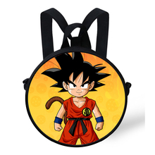 Dragon Ball Round School Bag Backpack (11 types)