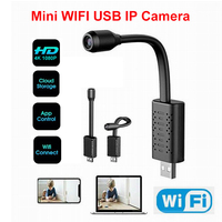 Small Camera HD Smart Mini Wifi USB Camera Real time Surveillance IP Camera AI Detection Loop Recording Mini camera Micro Cam